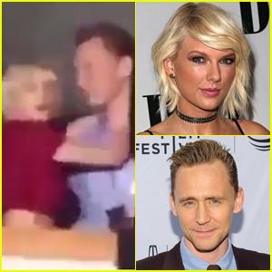 Taylor Swift & Tom Hiddleston Caught Cuddling at Selena Gomez's Concert!