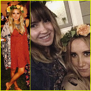 Ashley Tisdale Celebrates 31st Birthday with a Backyard Bash!