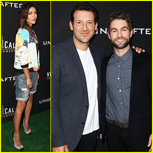 Chace Crawford Gets Support From Jessica Szohr At 'Undrafted' Premiere!