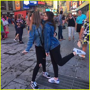 Luna Blaise & Ellise Take NYC By Storm!