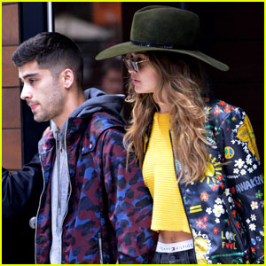 Gigi Hadid & Zayn Malik Spend the Day Together in NYC