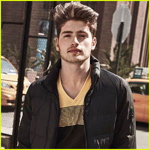 Gregg Sulkin Stars in Armani Exchange's New Campaign!