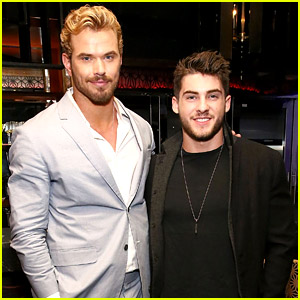Cody Christian Meets Up with Kellan Lutz at Fashion Week Dinner!