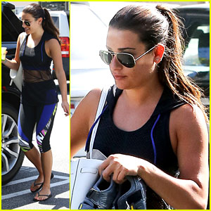 Lea Michele is Back To Brunette For 'Scream Queens' Season Two