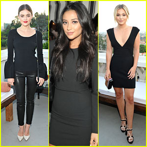 Lucy Hale & Shay Mitchell Lead Young Hollywood Stars at Elizabeth and James Flagship Opening Party
