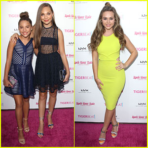 Maddie Ziegler & Sister Mackenzie Host TigerBeat's Official Teen Choice Awards Pre-Party