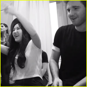 'Make It Pop' Star Megan Lee & AJ Release 'Ride' Cover - Watch Now!