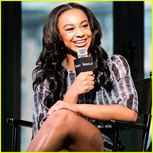 Nia Sioux Dishes On Dancing On Stage & Screen at AOL Build