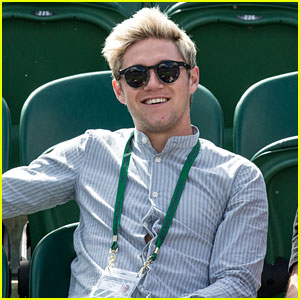 Niall Horan Attends Wimbledon After Getting a Haircut