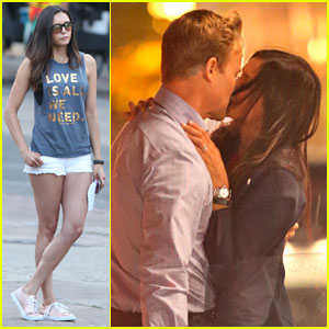 Nina Dobrev Makes Out With Hot Co-Star on 'Flatliners' Set