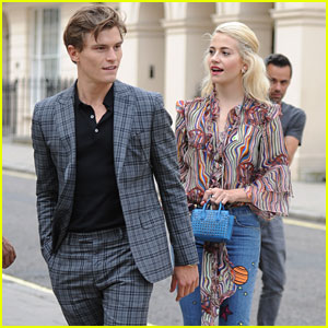 Oliver Cheshire Says He's Girlfriend Pixie Lott's Biggest Fan