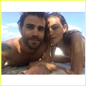 Paul Wesley & Phoebe Tonkin Are 'Jungle Twins' in Mexico