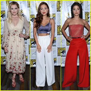 Eliza Taylor, Marie Avgeropoulos & Lindsey Morgan Hit 'The 100' Panel at Comic-Con