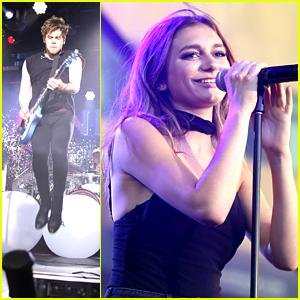5 Seconds of Summer & Daya Celebrate Summer at Pandora's Summer Crush Concert with Fergie