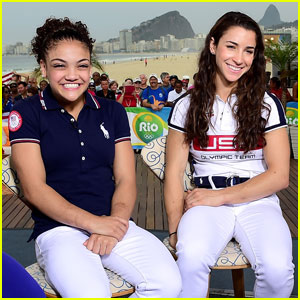 Aly Raisman Congratulates Laurie Hernandez on 'DWTS' Gig!