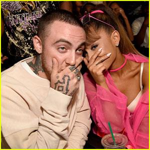 Ariana Grande Sits with Boyfriend Mac Miller at MTV VMAs 2016