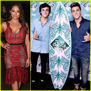 Ethan & Grayson Dolan & Bethany Mota Win Big at Teen Choice Awards 2016