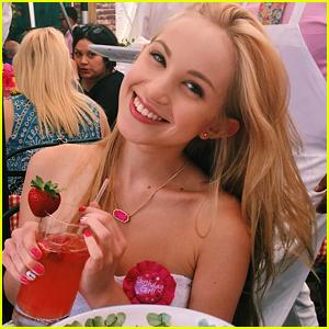 Brady Reiter Celebrates Sweet 16 with her Nickelodeon 'Crew'