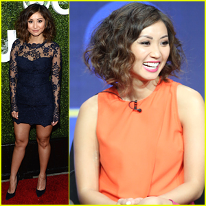 Brenda Song Parties It Up After Promoting New Show 'Pure Genius'