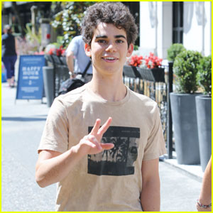 Cameron Boyce is Back in Vancouver for 'Descendants 2' Filming!