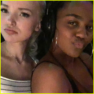 Dove Cameron & China Anne McClain Start Recording For 'Descendants 2'!