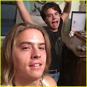 Dylan Sprouse Has Really Long Hair Right Now!
