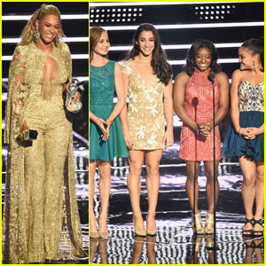 The Final Five Present to Beyonce at MTV VMAs 2016 - Watch Here!