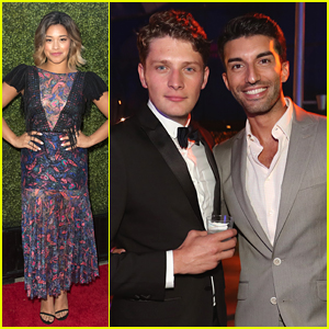 Justin Baldoni & Brett Dier's Bromance is Alive & Well at CBS' Summer TCA Party