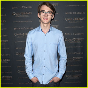 Isaac Hempstead Wright Helps Announce 'Game of Thrones' Live Concert Experience!