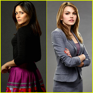 Italia Ricci & Aimee Teegarden Get New Promo Pics For New ABC Shows