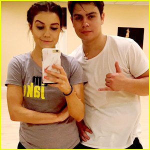 Jake T. Austin & Jenna Johnson Snap Their Way Through DWTS Rehearsals