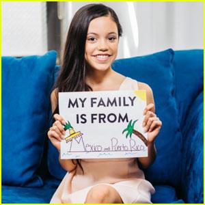 Jenna Ortega Participates in DoSomething.Org's 'Pride Over Prejudice' Campaign