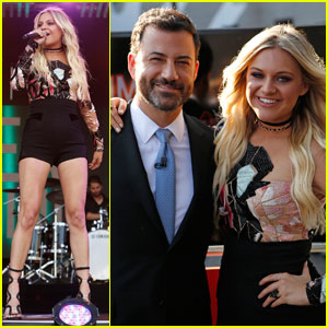 Kelsea Ballerini Hits the 'Jimmy Kimmel Live' Stage - Watch Her Performances!