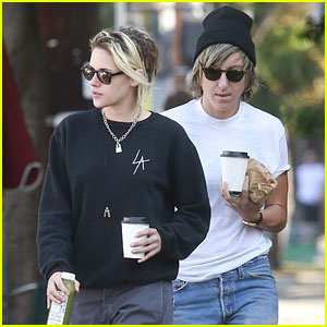 Kristen Stewart Does a Coffee Run with Girlfriend Alicia Cargile