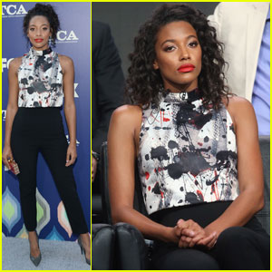 Kylie Bunbury Brings 'Pitch' to TCA 2016