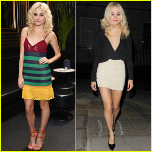 Pixie Lott is a Colorful Beauty at 'A Real Good Thing' Launch