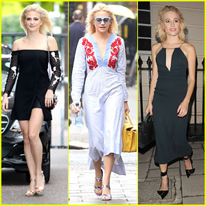 Pixie Lott's Street Style Is Slaying London
