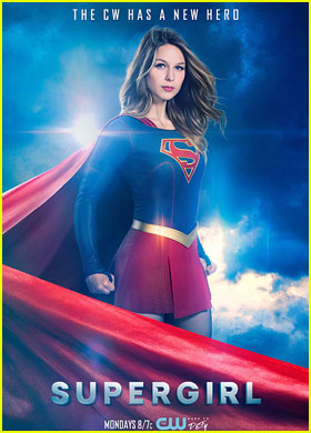 Melissa Benoist Looks Strong in New 'Supergirl' CW Promo Pic!