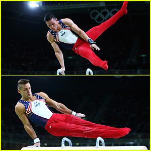 Sam Mikulak & USA Men's Gymnastics Team Reflect on Samir Ait Said's Injury At Olympics