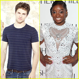 Olympic Gymnast Simone Biles Visits 'Pretty Little Liars' Set Today! (Video & Pics)