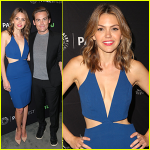 Aimee Teegarden Steps Out For PaleyFest Fall Previews Event 2016