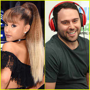 Ariana Grande & Manager Scooter Braun Are Teaming Up Again