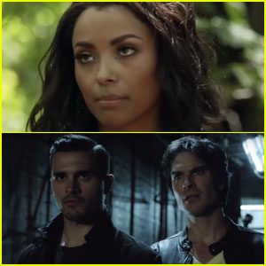 Bonnie Joins the Search for Damon & Enzo in New 'Vampire Diaries' Trailer - Watch Now!