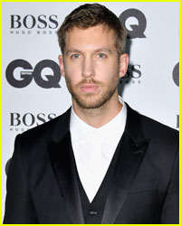 Calvin Harris Enjoys Night Out at Drake Concert