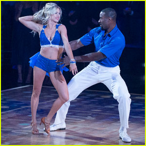 Calvin Johnson & Lindsay Arnold Get Their Cha Cha On - 'DWTS' Photos!