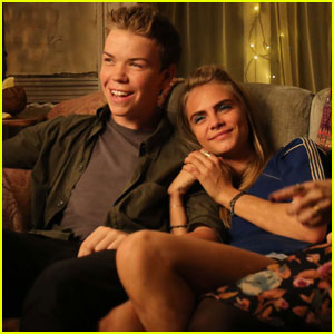 Will Poulter & Cara Delevingne Are Super Cute in This 'Kids in Love' Exclusive Clip - Watch Now!