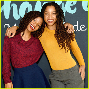 Chloe x Halle Step Out For Made With Code Event in NYC