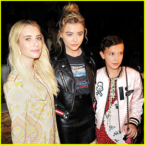 Chloe Moretz & Emma Roberts Step Out for Coach's NYFW Show!