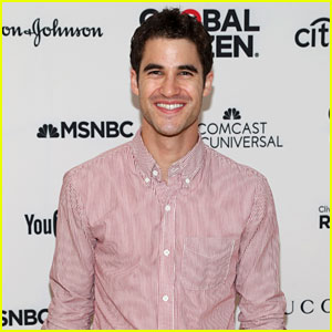 Darren Criss Has a Rad Time at Global Citizen Event
