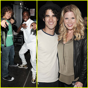 Darren Criss Rocks Out with Megan Hilty, the 'Stranger Things' Cast, & More at Elsie Music Festival!